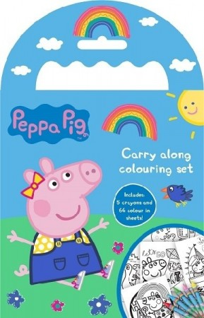 PEPPA GRIS CARRY ALONG TEGNESETT