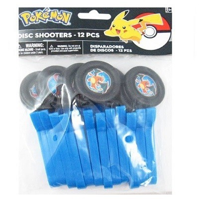 POKEMON DISC SHOOTERS (12-pk)