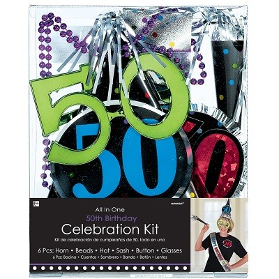 50th BIRTHDAY CELEBRATION KIT
