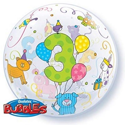 BUBBLE BALLOON 3 ÅR