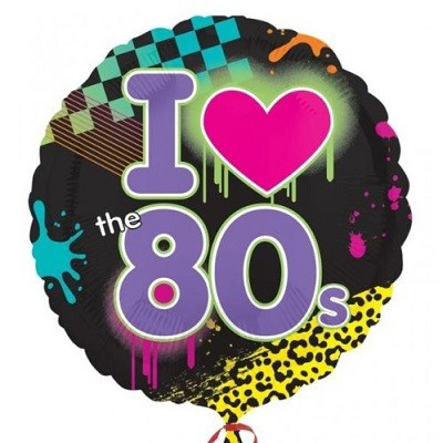 I LOVE THE 80´s FOLIEBALLONG