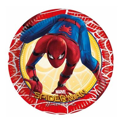 SPIDER MAN MEDIUM TALLERKENER