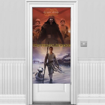 STAR WARS THE FORCE AWAKENS DØRBANNER