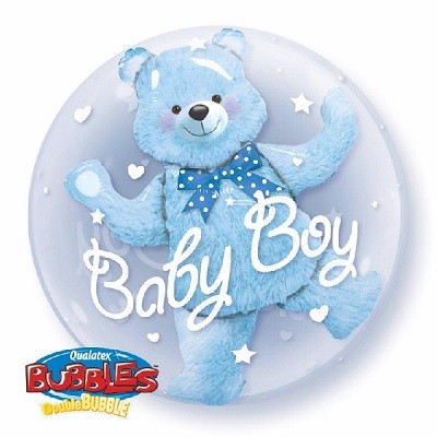 BABY BOY DOUBLE BUBBLE