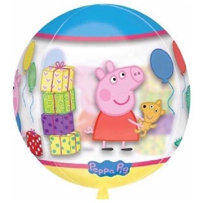 PEPPA GRIS ORBZ BALLOON