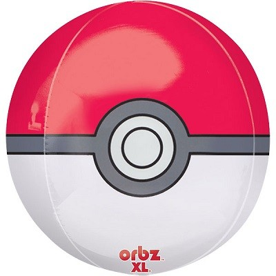 POKEMON ORBZ FOIL BALLOON