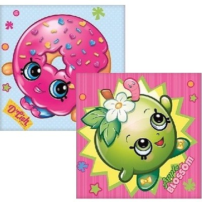 SHOPKINS SERVIETTER