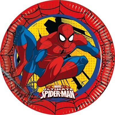 ULTIMATE SPIDER MAN TALLERKENER