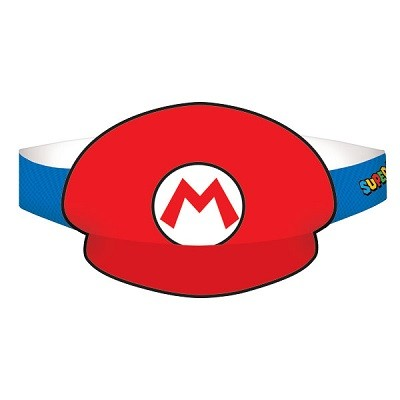 SUPER MARIO BROTHERS FESTHATTER (8-pk)