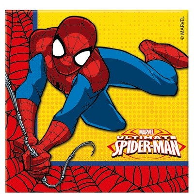 ULTIMATE SPIDER MAN SERVIETTER