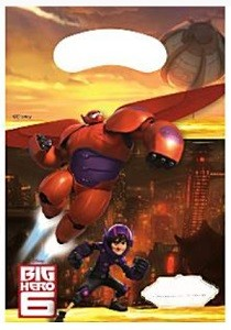 BIG HERO 6 FESTPOSER