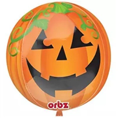PUMPKIN ORBZ BALLOON