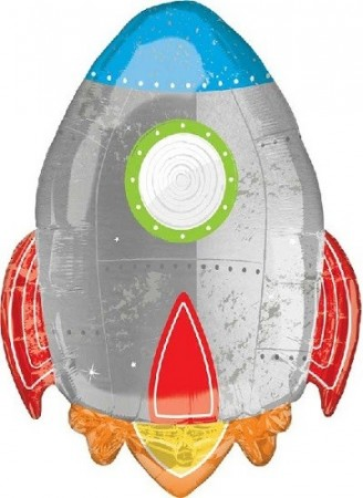 BLAST OFF SUPERSHAPE FOLIEBALLONG