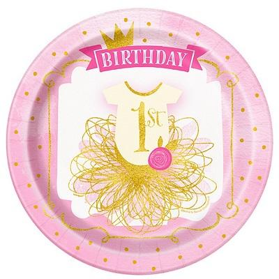 PINK & GOLD 1st BIRTHDAY