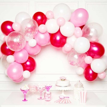 PINK BALLOON GARLAND KIT