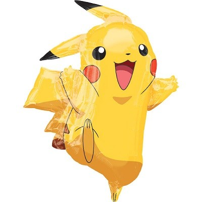 POKEMON PIKACHU SUPERSHAPE BALLONG