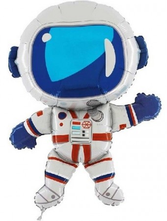 ASTRONAUT SUPERSHAPE FOLIEBALLONG