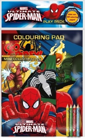 SPIDER MAN TEGNEPAKKE (play pack)