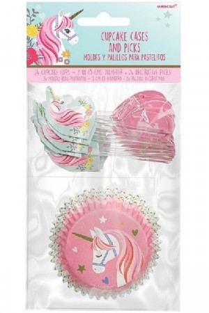 MAGICAL UNICORN CUPCAKE KIT (48-pk)