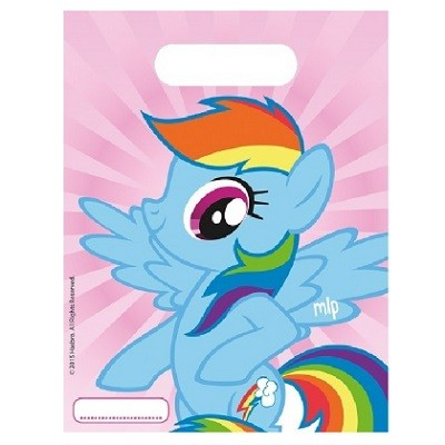 MY LITTLE PONY FESTPOSER - RAINBOW DASH (6-pk)