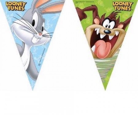 LOONEY TUNES FLAGG BANNER