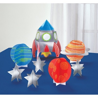 BLAST OFF DECORATION KIT