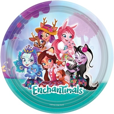 ENCHANTIMALS TALLERKENER