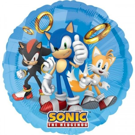 SONIC THE HEDGEHOG FOLIEBALLONG