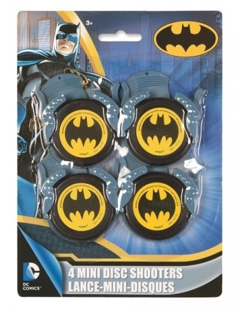 BATMAN DISC SHOOTERS (4-pk)