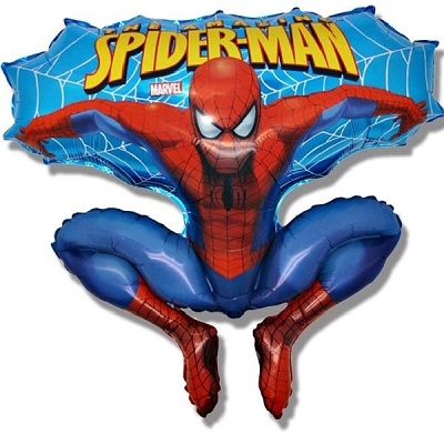 SPIDER MAN SUPERSHAPE FOLIEBALLONG