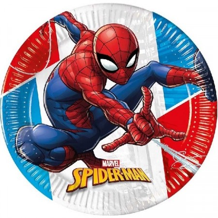 SPIDER MAN SUPER HERO TALLERKENER