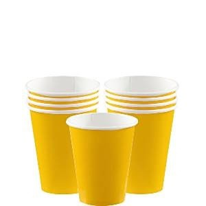 GULE PAPPKOPPER - YELLOW SUNSHINE (8-pk)