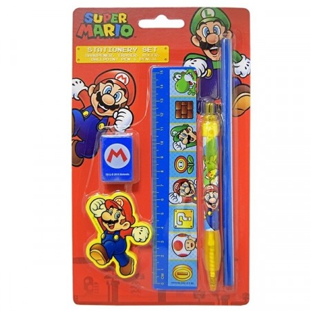SUPER MARIO STATIONERY SET