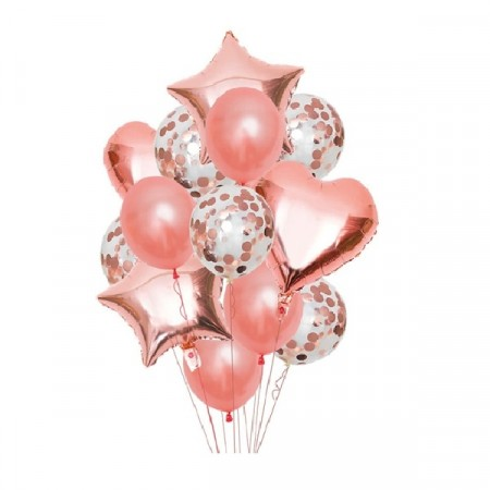 ROSE GOLD BALLOON SET
