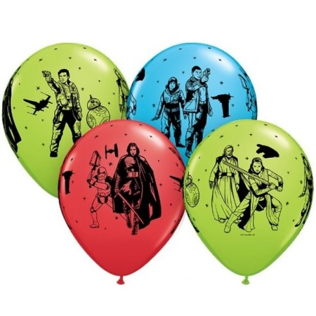 STAR WARS THE LAST JEDI BALLONGER (6-pk)