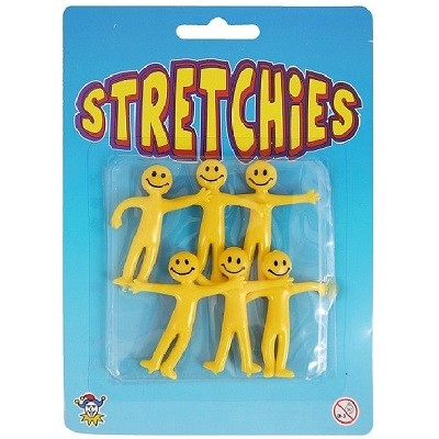 STRETCHY SMILEY (6-pk)