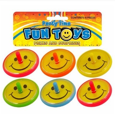 SMILEY SNURREBASSER (6-pk)
