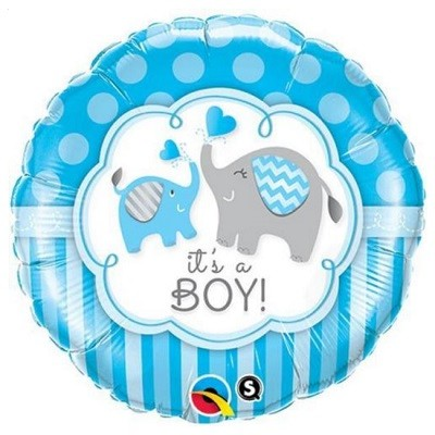 ITS A BOY FOLIEBALLONG