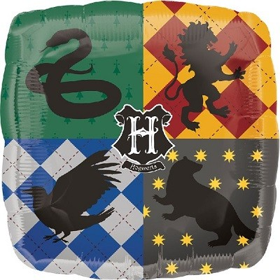 HARRY POTTER FOLIEBALLONG (FIRKANTET)