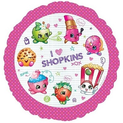 SHOPKINS FOLIEBALLONG