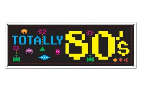 TOTALLY 80´s BANNER