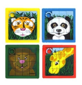JUNGLE SLIDE PUZZLES (10-pk)