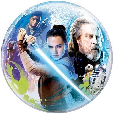 STAR WARS THE LAST JEDI BUBBLE BALLOON