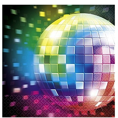 DISCO FEVER SERVIETTER