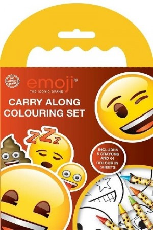 EMOJI CARRY ALONG TEGNESETT