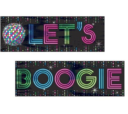 DISCO FEVER FOLIEBANNER