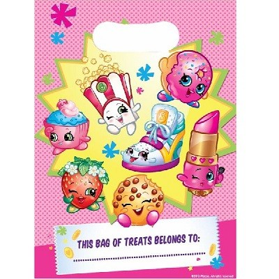 SHOPKINS FESTPOSER