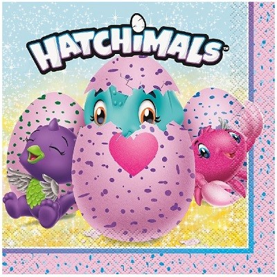 HATCHIMALS SERVIETTER