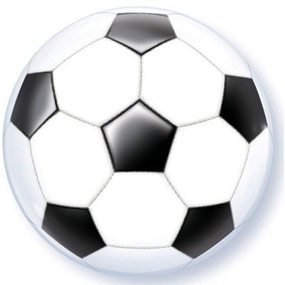 FOTBALL BUBBLE BALLOON