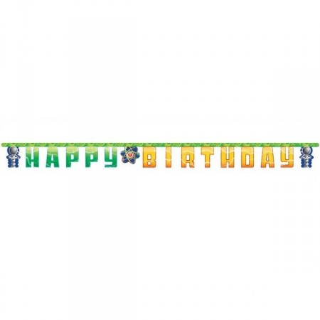 VITENSKAPSBURSDAG HAPPY BIRTHDAY BANNER